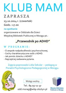 ,,przewodnik po ADHD''