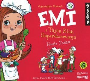 """Okładka audiobooka Agnieszka Mielech """"Niezłe Ziółka"""""""