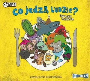 """Okładka audiobooka Paulina Wierzba """"Co jedzą ludzie?"""""""