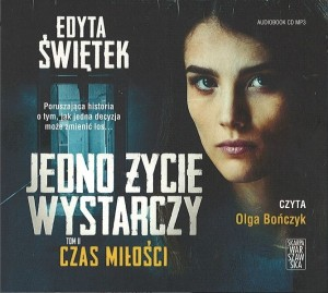 "Okładka audiobooka Edyta Świętek ""Czas miłości"""