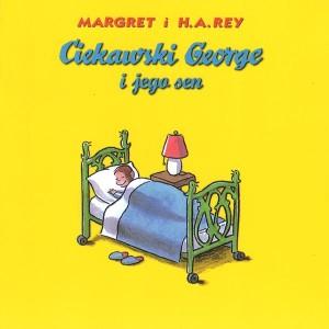 """Okładka książki Sharon Rentta """"Wyruszamy pociągami z Kocurkami"""""""