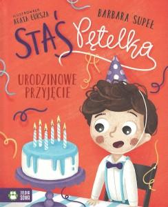 """Okładka książki Izabela Mikrut """"Traktor Stasia : nauka liczenia z okienkami"""""""
