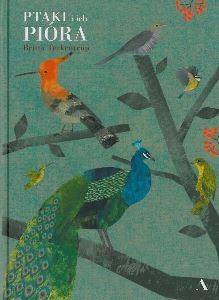 """Okładka książki Britta Teckentrup """"Ptaki i ich pióra"""""""