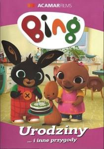 """Okładka filmu """"Bing. Część 7, Urodziny... i inne przygody"""""""