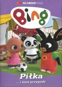 """Okładka filmu """"Bing. Część 8, Piłka... i inne przygody"""""""
