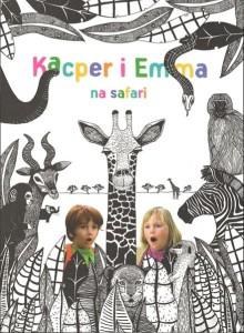 "Okładka filmu ""Kacper i Emma na safari"""