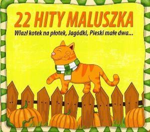"""Okładka płyty """"22 hity maluszka"""""""