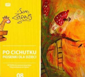 """Okładka płyty """"Po cichutku : piosenki dla dzieci"""""""
