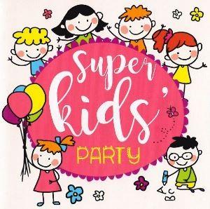 "Okładka płyty ""Super Kids Party"""