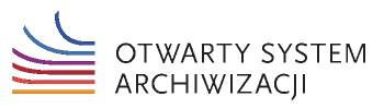 Logo Otwartego Systemu Archiwizacji