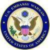 Godło Ambasady USA w Warszawie