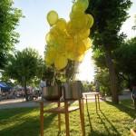 Balony w miejscu publicznym