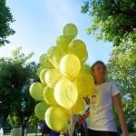 Trzymanie balonów