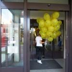 Balony w bibliotece