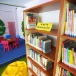 Książki w dziale dziecięcym