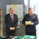 Komendant gminny Zarządu Oddziału Gminnego OSP oraz Burmistrz Morąga