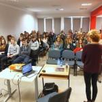 Iwona Bolińska Walendzik i publika
