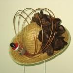 Wyplatany kapelusz