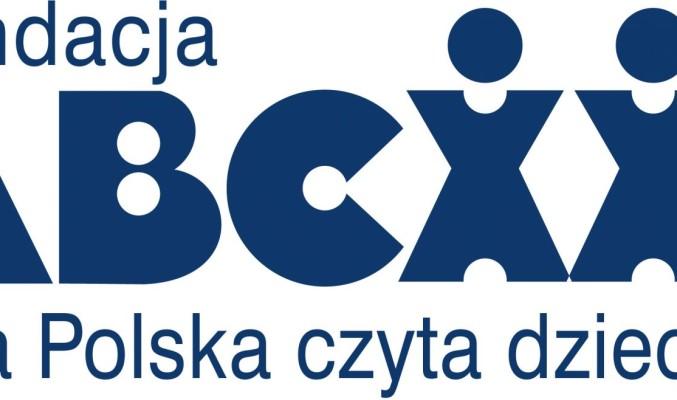 """Logo Fundacji ABCXII """"Cała Polska czyta dzieciom"""""""
