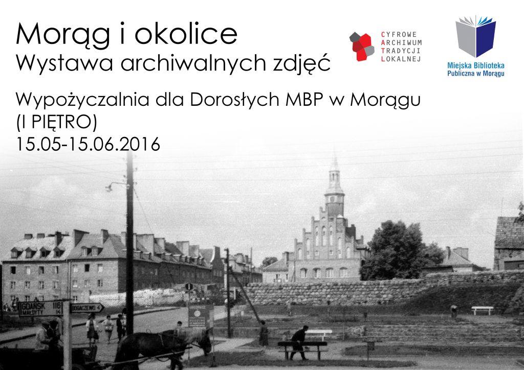 Morąg i okolice – wystawa archiwalnych zdjęć