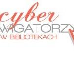 Logo Cybernawigatorzy w bibliotece