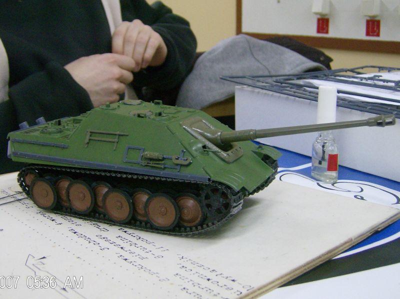 Model czołgu