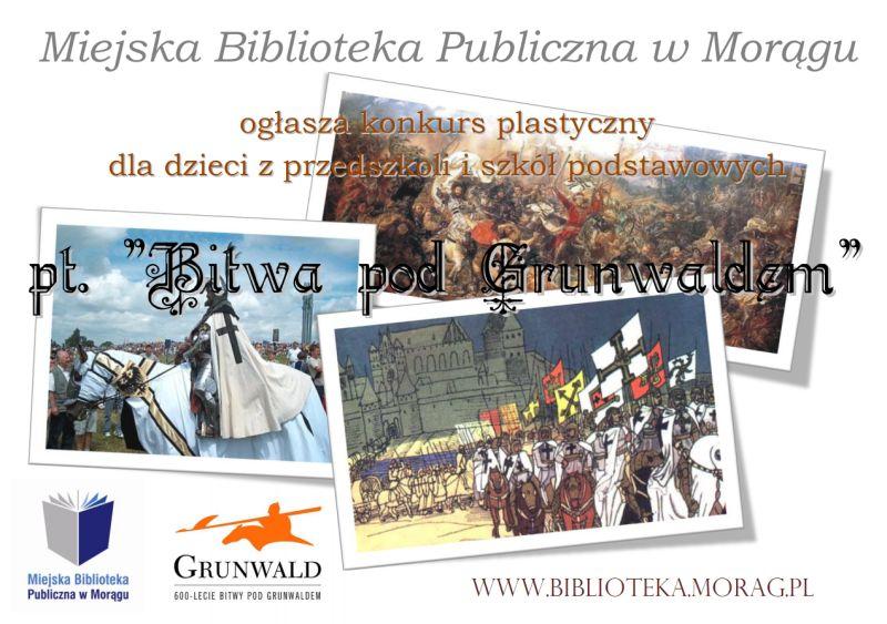 "Plakat konkursu ""Bitwa pod Grunwaldem"""