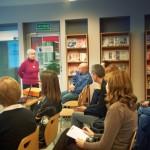 Wypowiedź rumuńskiej bibliotekarki