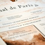 Książka autorki na pierwszej stronie gazety