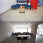 Porównanie sali