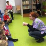 Paulina Freitag z dziećmi