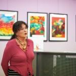 Pani Wanda Dziedziech mówi o swoich dziełach