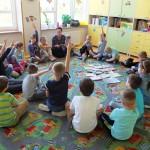 Aktywne dzieci podczas akcji