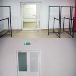 Porównanie wejścia do sali wielofunkcyjnej