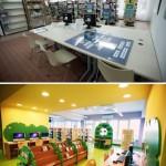 Fotografia Oddziału dla Dzieci - sprzed i po remoncie