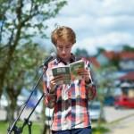 Uczestnik czytania publicznego
