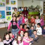Agata Półtorak z dziećmi