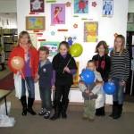 Laureaci konkursu z balonami