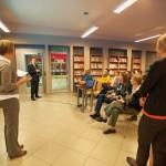 Prezentacja rumuńskich bibliotekarzy