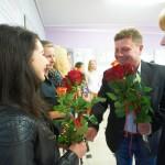 Wręczenie róż