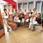 Uczestniczki z certyfikatami