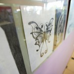 Zdjęcie rysunku motyla