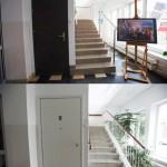 Porównanie schodów