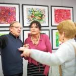 Wystawa obrazów Pani Wandy