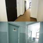 Porównanie drzwi od gabinetu