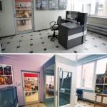 Fotografia Wypożyczalni dla Dorosłych (winda) - sprzed i po remoncie