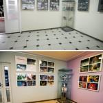 Fotografia Wypożyczalni dla Dorosłych (minigaleria) - sprzed i po remoncie