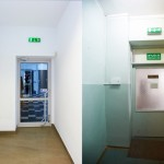 Porównanie wejścia do sali dla dzieci