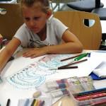Dziecko i rysunki