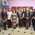 Zdjęcie grupowe pracowników biblioteki